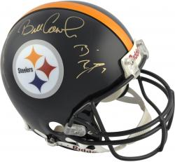Pittsburgh Steelers QBs Coaches 4 Signatures Autographed Pro-Line Riddell Authentic Helmet
