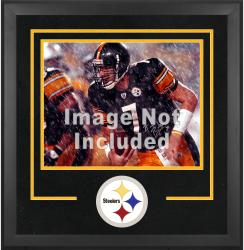 Pittsburgh Steelers Deluxe 16'' x 20'' Horizontal Photograph Frame with Team Logo - Mounted Memories