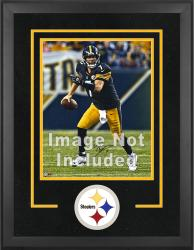 Pittsburgh Steelers Deluxe 16'' x 20'' Vertical Photograph Frame with Team Logo - Mounted Memories