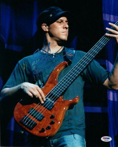 Stefan Lessard Signed Autograph 11x14 Photo - Dave Matthews Band Bassist, Psa