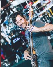 Stefan Lessard Signed Autographed 8x10 Photo Bassist Dmb Dave Matthews Band #2