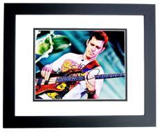 Stefan Lessard Signed - Autographed DMB Dave Matthews Band Guitarist 8x10 Photo BLACK CUSTOM FRAME