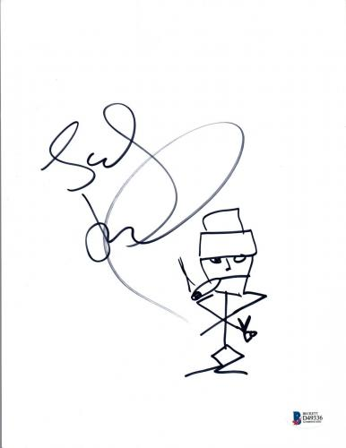 Stefan Lessard Signed Autographed Sketch Drawing Dave Matthews Band DMB BAS COA