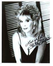 Stella Stevens Autographed Signed Glamorous b&w Vintage Photo AFTAL