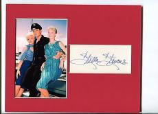 Stella Stevens Girls! Girls! Girls! Signed Autograph Photo Display With Elvis