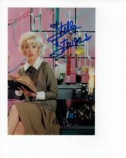 STELLA STEVENS HAND SIGNED 5x8 COLOR PHOTO+COA         NUTTY PROFESSOR