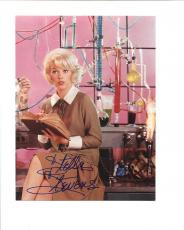 STELLA STEVENS HAND SIGNED 6x8 COLOR PHOTO+COA         NUTTY PROFESSOR