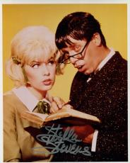STELLA STEVENS HAND SIGNED 8x10 COLOR PHOTO+COA      JERRY LEWIS+NUTTY PROFESSOR