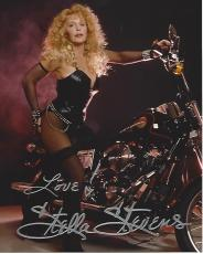 "STELLA STEVENS - Movies Include ""GIRLS! GIRLS! GIRLS!"", ""THE NUTTY PROFESSOR"", and ""THE POSEIDON ADVENTURE"" Signed 8x10 Color Photo"