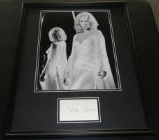 Stella Stevens Signed Framed 16x20 Photo Poster Display