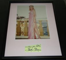 Stella Stevens Signed Framed 16x20 Photo Poster Display B