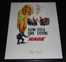 Stella Stevens Signed Framed 16x20 Photo Poster Display Rage
