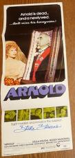 Stella Stevens Signed Original 14x36 1973 Arnold Movie Poster PSA/DNA COA Auto'd