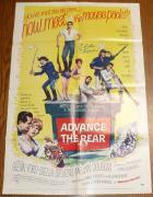 Stella Stevens Signed Original 1964 Advance to the Rear 27x41 Poster PSA/DNA COA