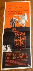 Stella Stevens Signed Original 1969 The Mad Room 14x36 Poster PSA/DNA COA Auto'd