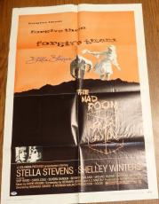 Stella Stevens Signed Original 1969 The Mad Room 27x41 Poster PSA/DNA COA Auto'd