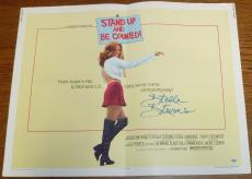 Stella Stevens Signed Original 1972 Stand Up and Be Counted Poster PSA/DNA COA