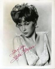 Stella Stevens Vintage Jsa Certed Signed 8x10 Photo Authentic Autograph