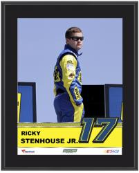 "Ricky Stenhouse Jr. Sublimated 10.5"" x 13"" Plaque - Mounted Memories"