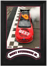 "Ricky Stenhouse, Jr. Framed Iconic 16"" x 20"" Photo with Banner - Mounted Memories"