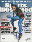 STEPHEN COLBERT Signed 12/21/09 SPORTS ILLUSTRATED with PSA/DNA COA (NO Label)