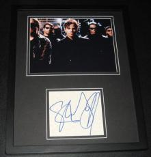 Stephen Dorff Signed Framed 11x14 Photo Display JSA Blade