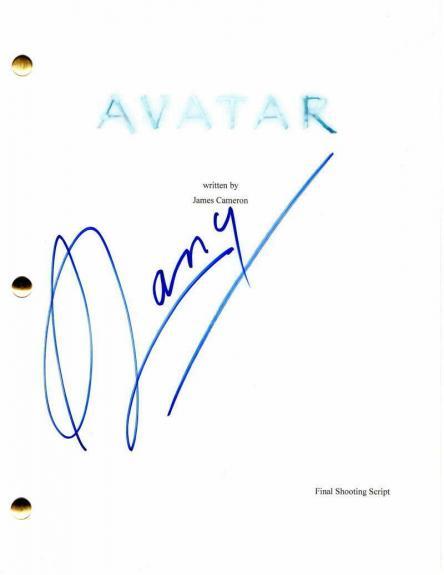 Stephen Lang Signed Autograph - Avatar Movie Script - James Cameron, Zoe Saldana