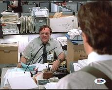 Stephen Root Office Space Signed 8X10 Photo PSA/DNA #AA20405