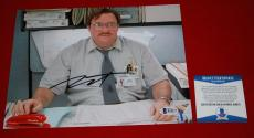 STEPHEN ROOT office space signed beckett 8X10 BAS photo KOTH