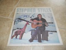 Stephen Still Solo Signed Autographed LP Album PSA Guaranteed CSN CSNY