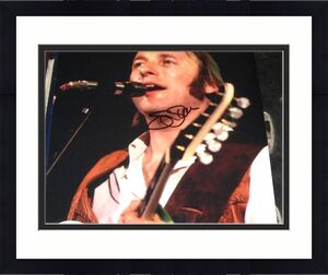 Stephen Stills Buffalo Springfield CSNY Band SIGNED 8x10 Photo JSA Autographed