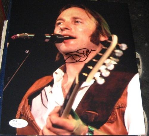Stephen Stills Buffalo Springfield CSNY Band SIGNED 8x10 Photo JSA Autographed