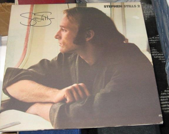 Stephen Stills Csny Buffalo Springfield Signed Stephen Stills 2 Album Jsa Q41216