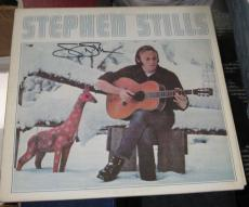 "Stephen Stills Csny Buffalo Springfield Signed ""stephen Stills"" Album Jsa Q41214"