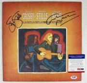 Stephen Stills & Graham Nash Signed Album Cover PSA/DNA #P35817
