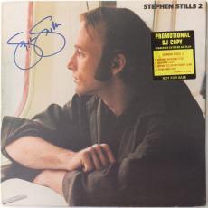 Stephen Stills Signed Authentic Autographed Album Cover PSA/DNA #AB39962
