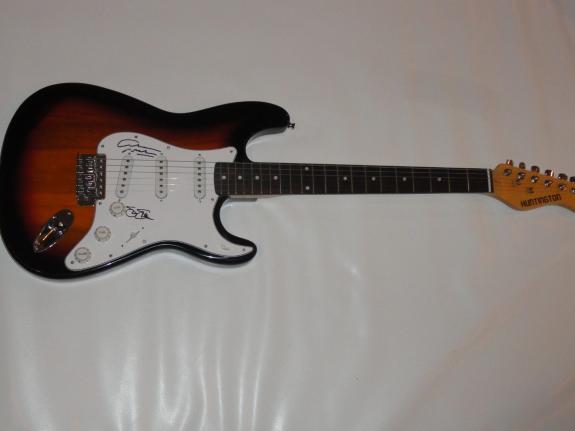 Stephen Stills & Graham Nash Signed Electric Guitar Csn Crosby Jsa Coa