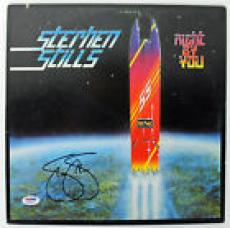 Stephen Stills Signed Right By You Album Cover PSA/DNA #AB43055