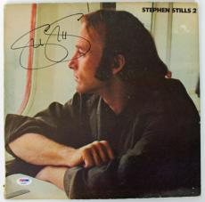 Stephen Stills Signed Stephen Stills 2 Album Cover PSA/DNA #AB43057