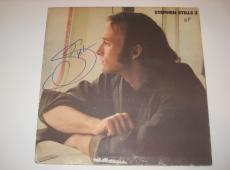STEPHEN STILLS Signed STEPHEN STILLS 2 Album Cover w/ Beckett COA
