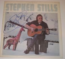 STEPHEN STILLS Signed THE GIRAFFE OF UNREQUITED LOVE Album Cover w/ Beckett COA