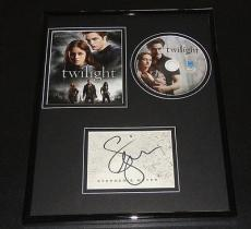 Stephenie Meyer Signed Framed 11x14 Twilight DVD & Photo Display JSA