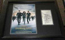 Stephenie Meyer Signed Framed 18x24 Twilight Breaking Dawn Photo Display JSA