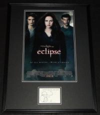 Stephenie Meyer Signed Framed 18x24 Twilight Eclipse Photo Poster Display JSA