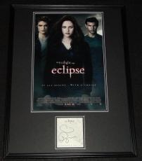 Stephenie Meyer Signed Framed 18x24 Twilight Eclipse Photo Poster Display JSA B