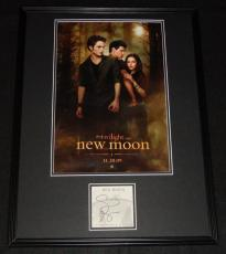 Stephenie Meyer Signed Framed 18x24 Twilight New Moon Poster Display JSA