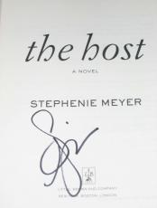 STEPHENIE MEYER signed HOST Book w/ PSA COA