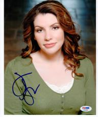 Stephenie Meyer Twilight Author signed 8x10 photo PSA/DNA autograph