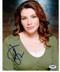 Stephenie Meyer Twilight Author signed 8x10 photo PSA/DNA autograph