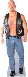 Stone Cold Steve Austin Autographed Life Size Stand Up